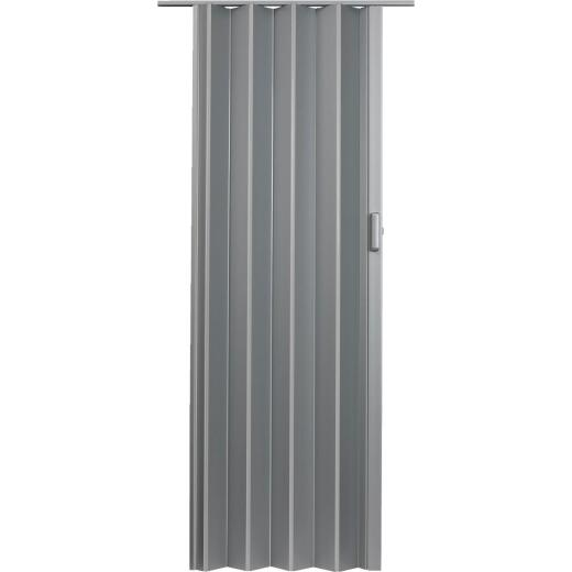 Spectrum Elite 48 In. W. x 80 In. H. Satin Silver Accordion Folding Door