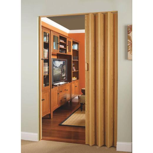 Spectrum Encore 24 In. to 36 In. W. x 80 In. H. Oak Accordion Folding Door