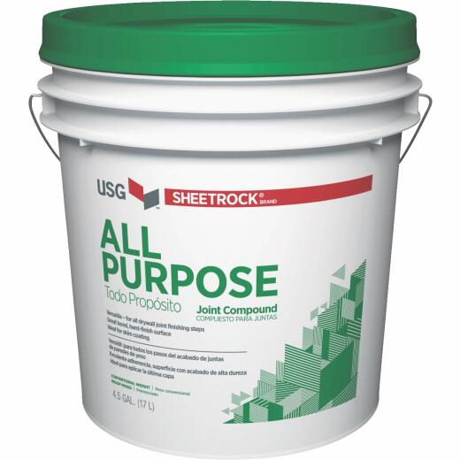 Sheetrock 4.5 Gal. Pre-Mixed All-Purpose Drywall Joint Compound