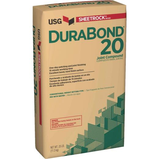 Sheetrock Durabond 20 Setting Type 25 Lb. Drywall Joint Compound