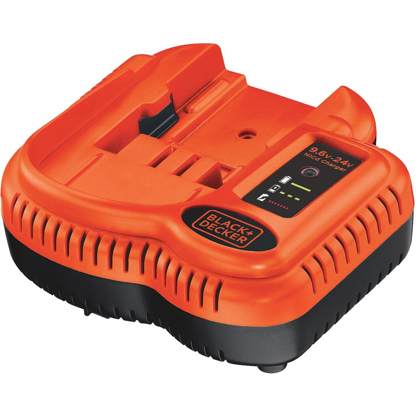 Black & Decker 9.6-Volt to 18-Volt Nickel-Cadmium Battery Charger Image 1