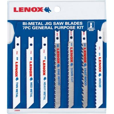 7PC JIGSAW BLADE SET