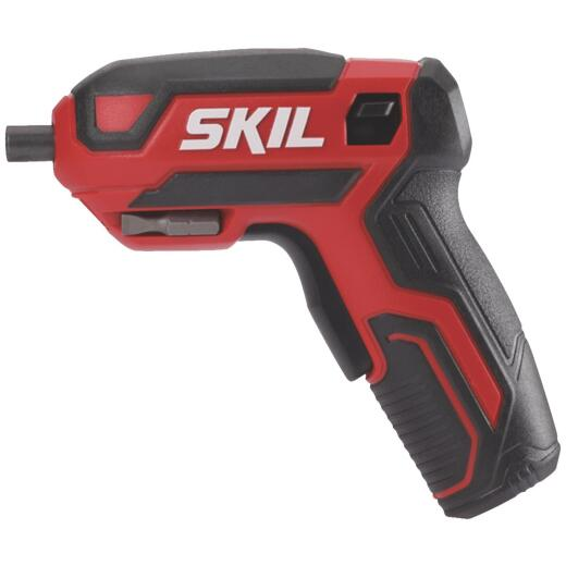 SKIL 4-Volt Lithium-Ion 1/4 In. Hex Rechargeable Cordless Screwdriver
