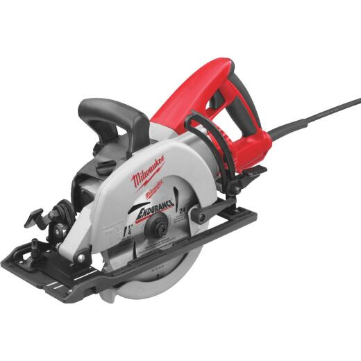 Milwaukee 7-1/4 In. 15-Amp Magnesium Worm Drive Circular Saw