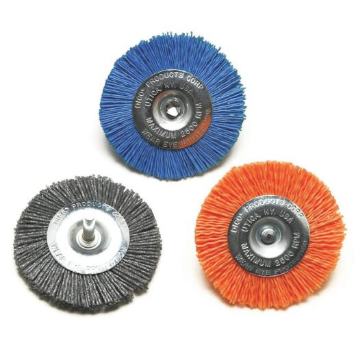 Dico 3 In. Extra Coarse Drill-Mounted Wire Brush