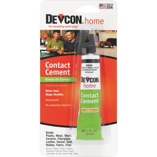 Devcon 1 Oz. Amber Contact Cement