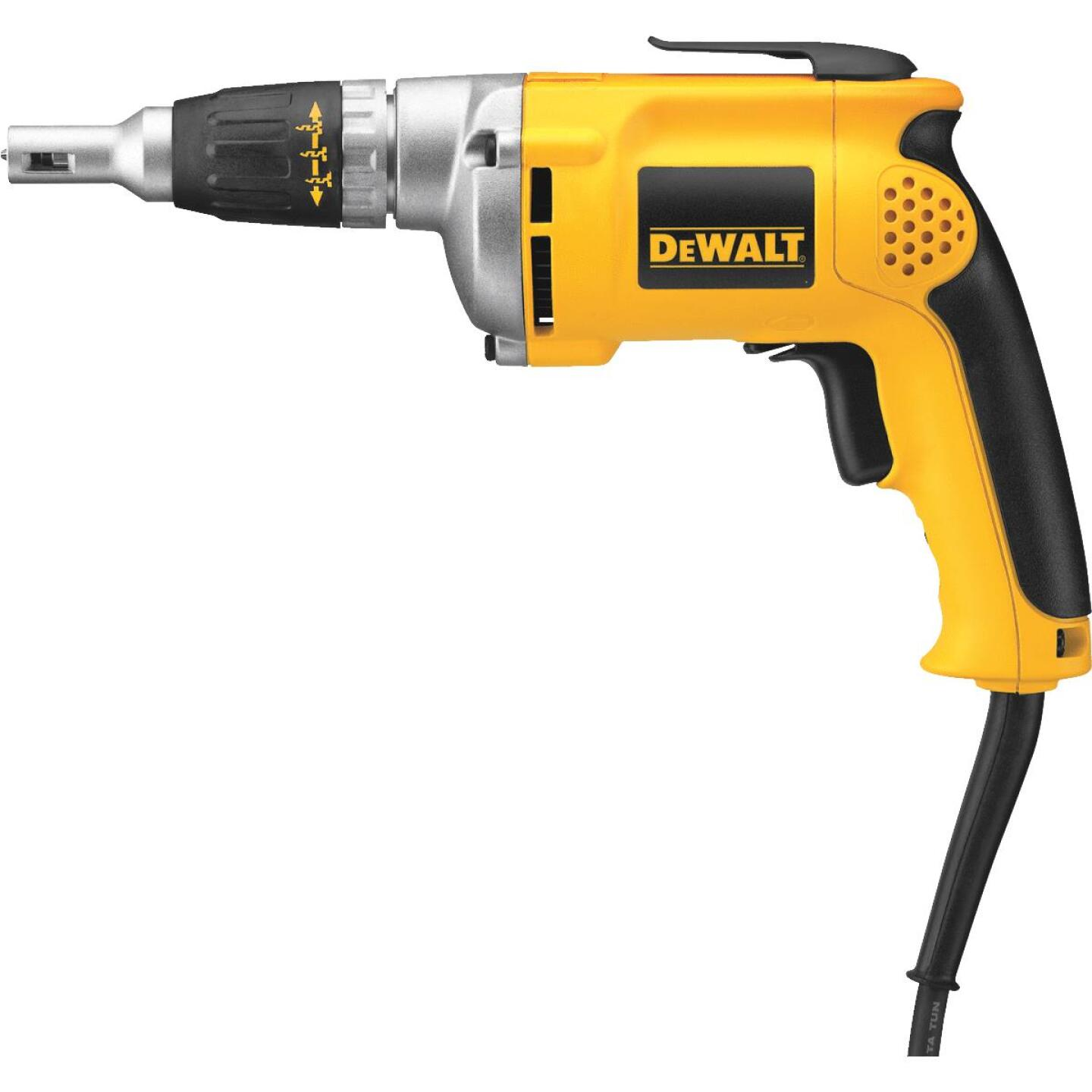 DeWalt 6.3A/4000 rpm 81 In./Lb. Torque Electric Screwgun Image 1