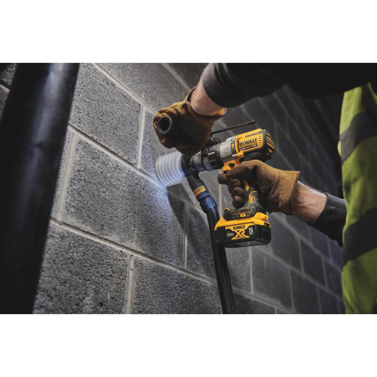 DeWalt 20 Volt MAX XR Lithium-Ion Brushless 1/2 In. 3-Speed Cordless Hammer Drill (Bare Tool) Image 2