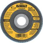 DeWalt 4-1/2 In. 120-Grit Type 29 High Performance Zirconia Angle Grinder Flap Disc Image 1