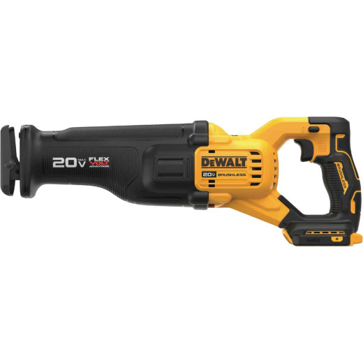 DeWalt 20 Volt MAX Lithium-Ion Brushless Cordless Reciprocating Saw with Flexvolt Advantage (Bare Tool)