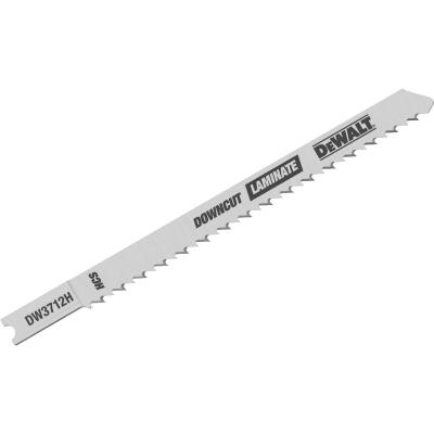 DeWalt U-Shank 4 In. x 10 TPI High Carbon Steel Jig Saw Blade, Downcut Laminate (5-Pack)