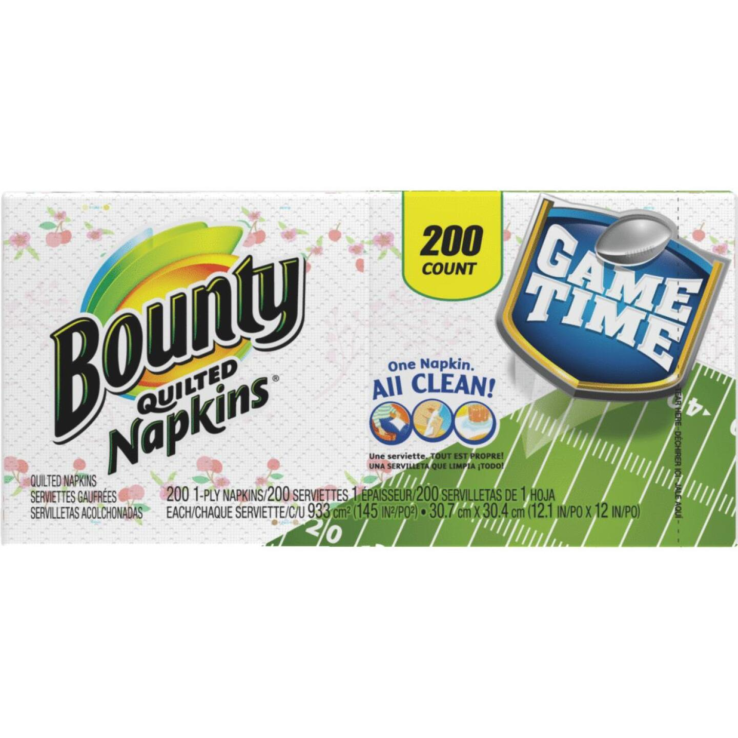 Bounty Quilted Paper Napkins (200 Count) Image 1