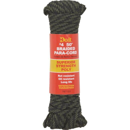 Do it 1/8 In. x 50 Ft. Camouflage Braided Polypropylene Paracord
