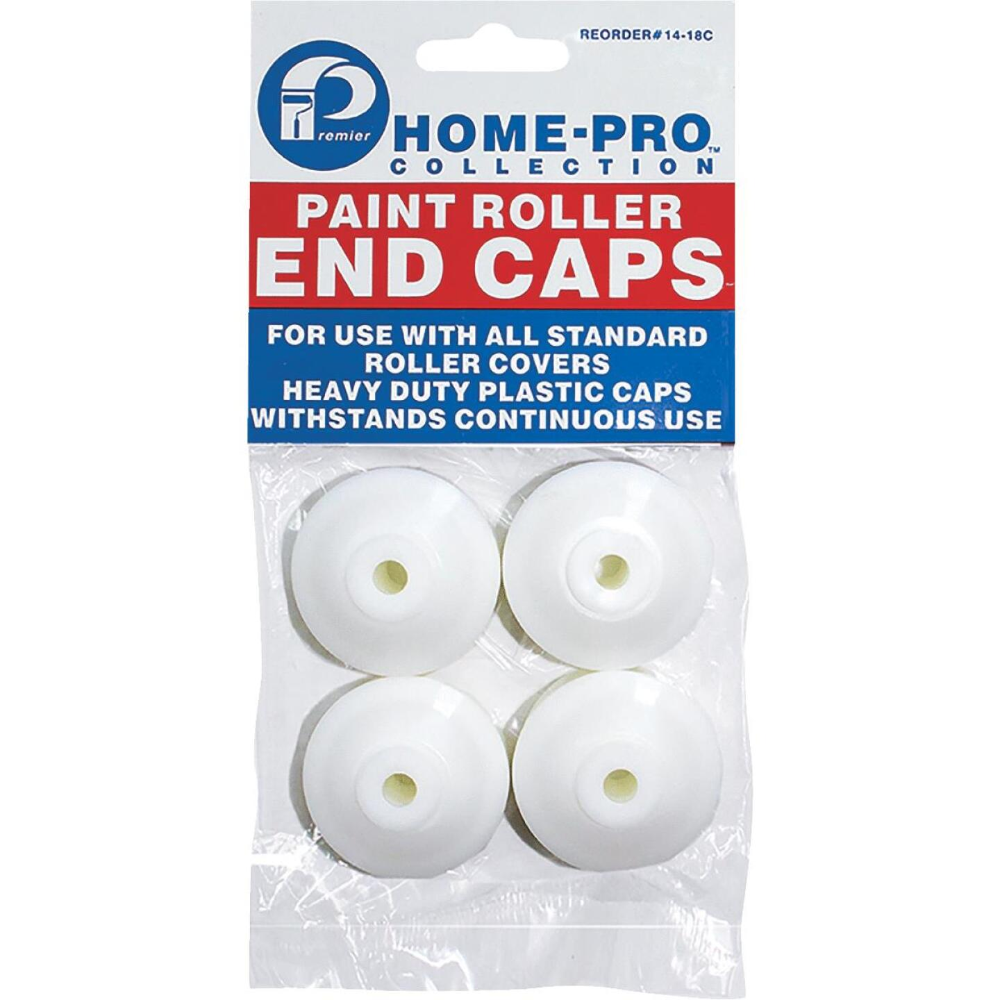 Premier Home-Pro 1-1/2 In. Plastic Paint Roller End Caps (4-Pack) Image 1